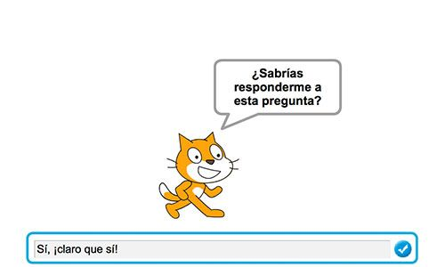 El proyecto Scratch de los Viernes (IV): crea juegos de preguntas y respuestas 6