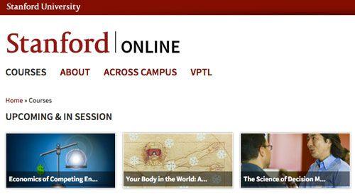 Stanford MOOC