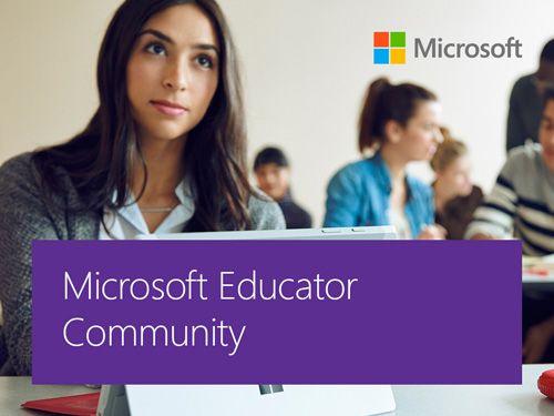 Microsoft Educator Community, la red global de Microsoft para docentes 4