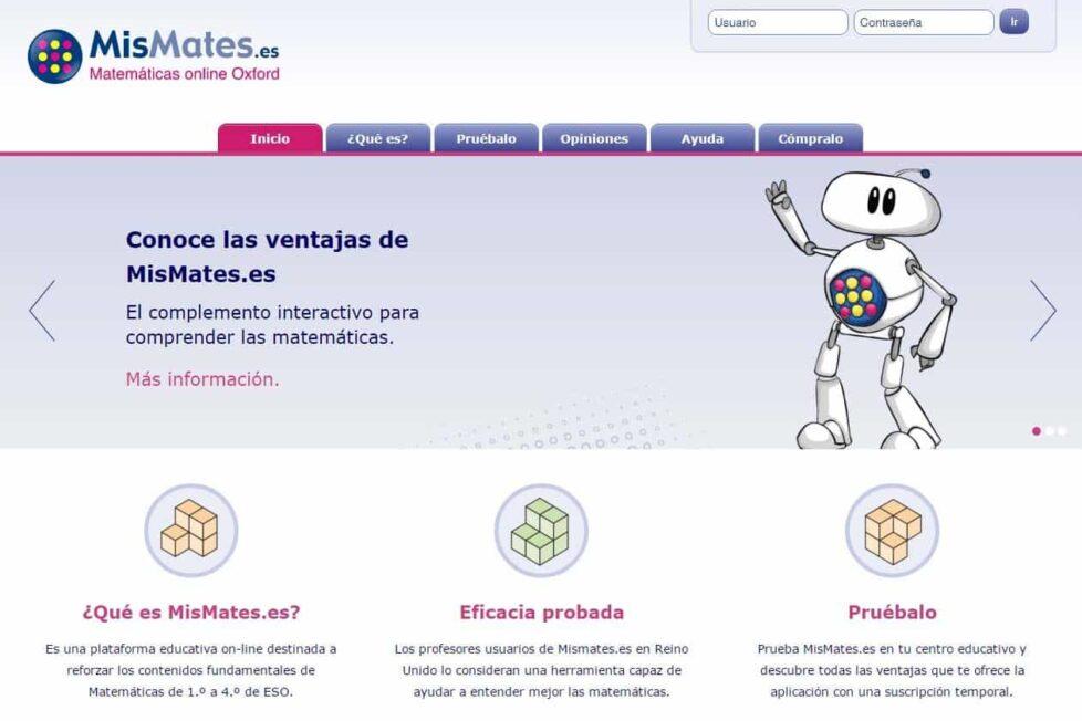 'MisMates.es', una plataforma para facilitar la comprensión de las Matemáticas