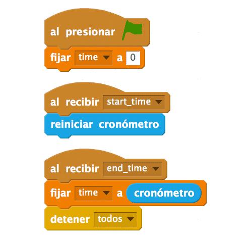 Cómo usar un cronómetro en Scratch