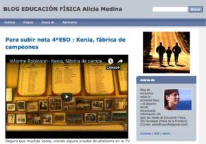 Blogs en español para la asignatura de Educación Física 10
