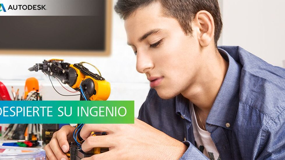 Herramientas 3D y formación gratuitas con Autodesk. ¡Consulta el calendario de talleres! 1