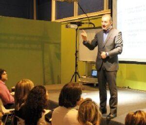 Richad Gerver en SIMO EDUCAICÓN