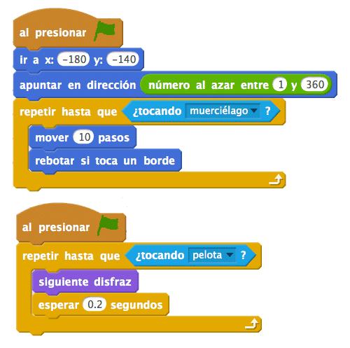 Scratch chuleta de código