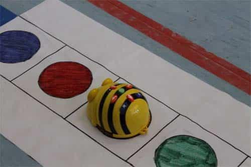 'Un robot en el clase', un proyecto para enseñar a programar a los alumnos de Infantil 2