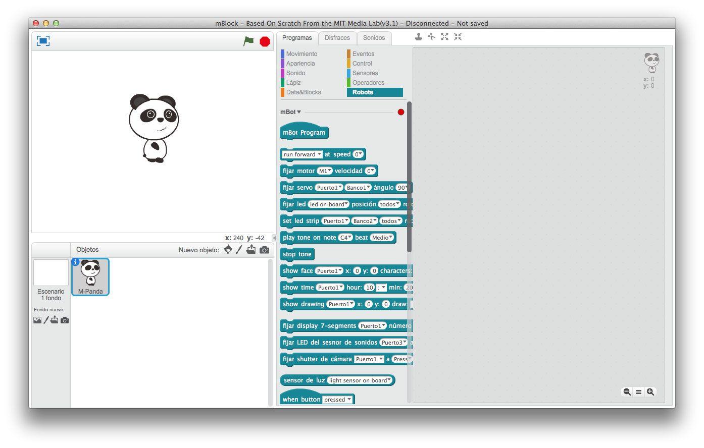 mblock-enseñar programación