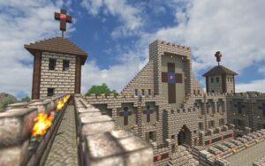 Catedral en Minecraft