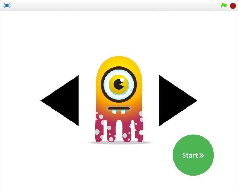Elige tu personaje en Scratch