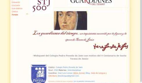 'Guardianes del tiempo', una webquest sobre la vida y obra de Santa Teresa 3