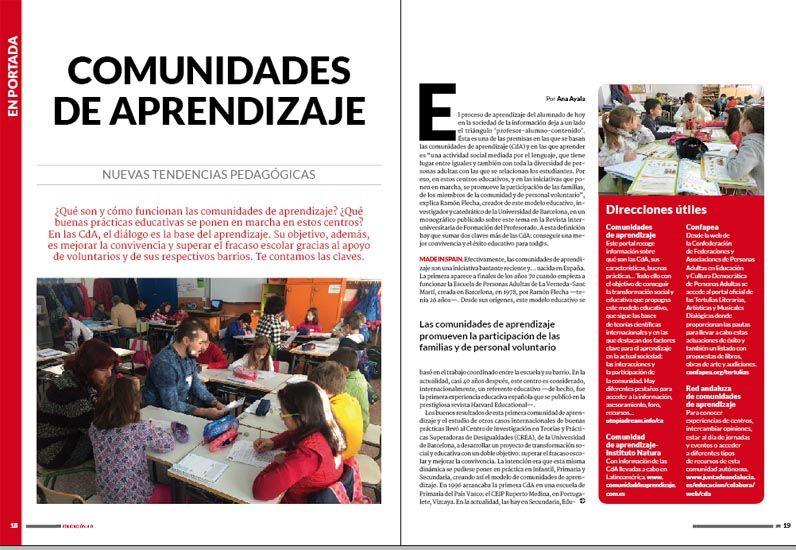 Comunidades de aprendizaje: transformar la escuela y su entorno