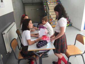 colegio mirasur - grupo de niñas