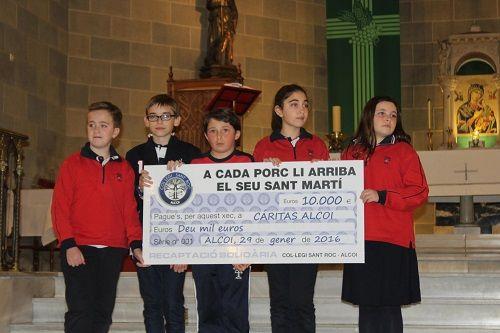 El alumnado de Primaria del Colegio San Roque lleva a cabo un proyecto de Aprendizaje Servicio 1