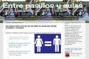 Blog 'entre pasillos y aulas'
