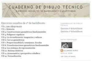 Blogs de Dibujo Técnico para Bachillerato 2