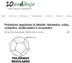 Blogs de Dibujo Técnico para Bachillerato 3