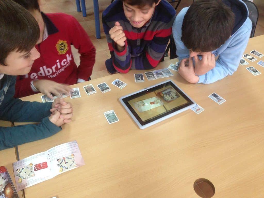 Un canal escolar sobre juegos de mesa. El juego en la Escuela