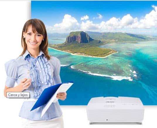 Proyecciones de calidad con Acer serie Education 4