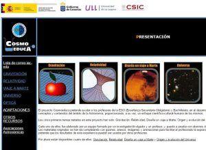 Recursos de Astronomía para Secundaria 2