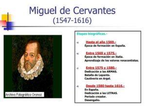 15 recursos para conocer la vida y obra de Miguel de Cervantes 4