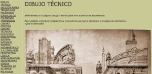 Blogs de Dibujo Técnico para Bachillerato 8