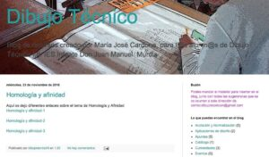 Blogs de Dibujo Técnico para Bachillerato 6