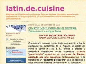 10 blogs para las asignaturas de Latín y Griego 7