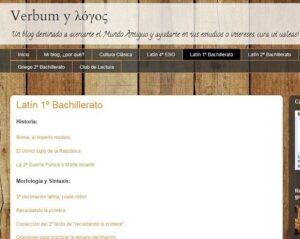 10 blogs para las asignaturas de Latín y Griego 2