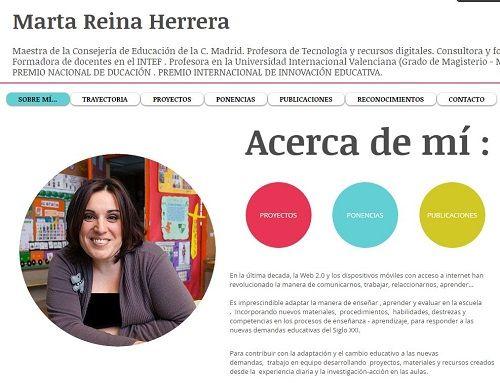 marta reina blog