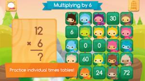 45 juegos interactivos para repasar las tablas de multiplicar 24