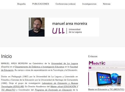 blog Manuel Area Moreira