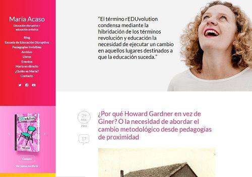 blog María Acaso