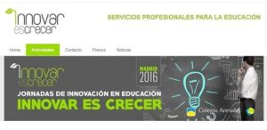 Jornadas de Innovación en la Educación 'Innovar es Crecer'