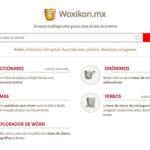 Woxikon, el diccionario on line que busca traducciones, rimas, sinónimos y conjugaciones 1
