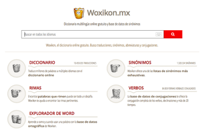 Woxikon sinónimos on line