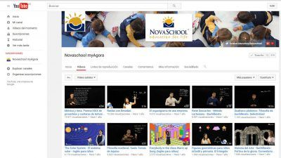 YouTube Novaschool