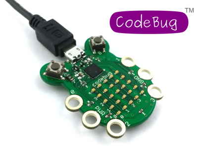 codebug hardware logo