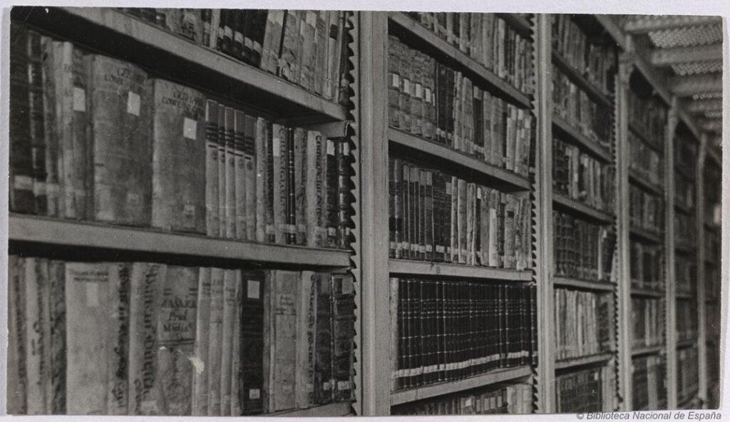 Imagen: Biblioteca Nacional de España http://www.bne.es/es/AreaPrensa/MaterialGrafico/ImagenInstitucional/Antiguas/index.html