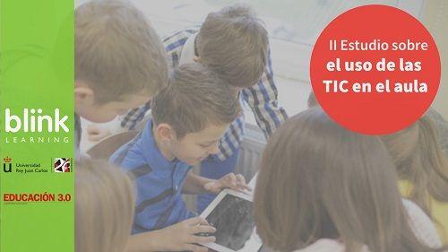 Participa en el estudio de Blinklearning sobre el uso de las TIC en el aula