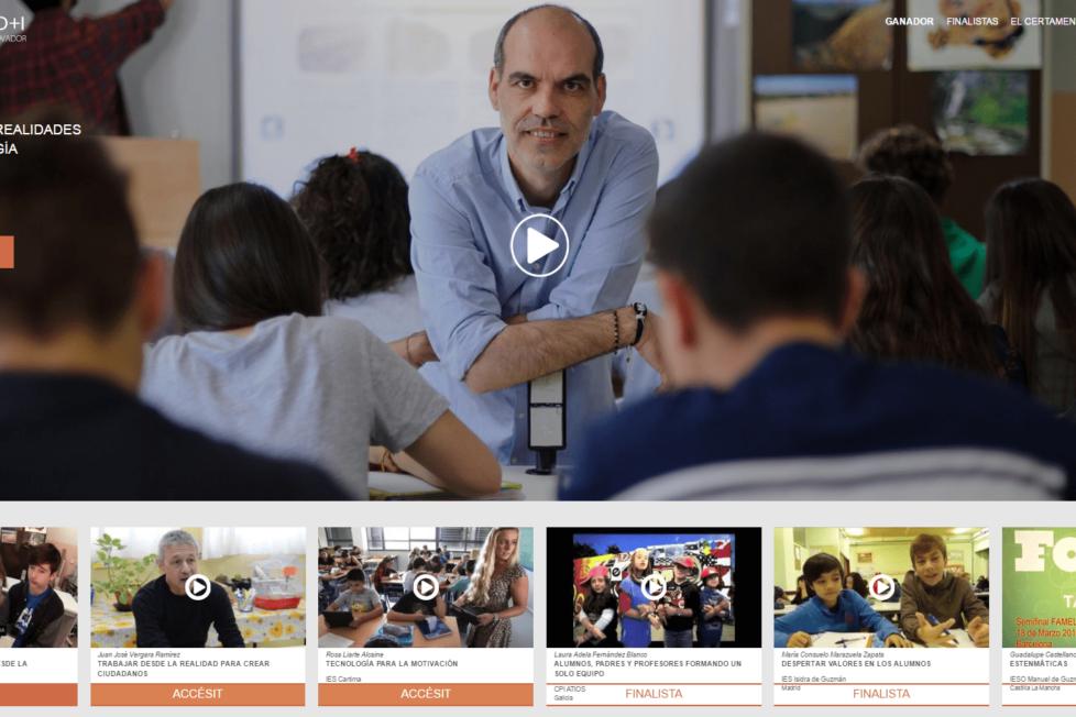 Juan de Vicente, ganador de Certamen D+I al docente más innovador de España