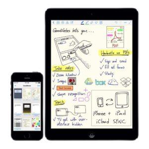 Apps para digitalizar el texto que escribes a mano en tu tablet 1