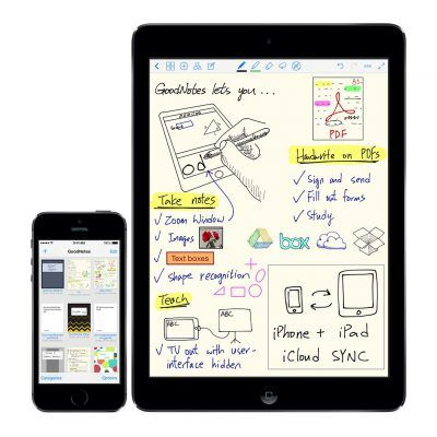 GoodNotes apps to scan