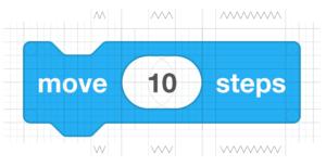 Scratch 3.0 move block