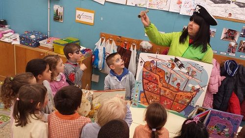 Un cuento a la semana para fomentar la lectura en el aula de Infantil 1