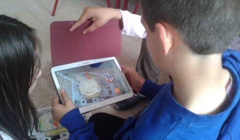 ¡Trabajamos las inteligencias múltiples! un viaje por el espacio con tablets 2