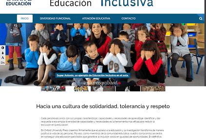 La web de Oxford para la educación inclusiva 2