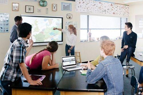 Lo último en PDIs y monitores interactivos para el aula 6