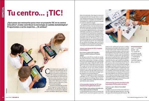 ¿Qué necesita un centro para estar al día con las TIC? 1