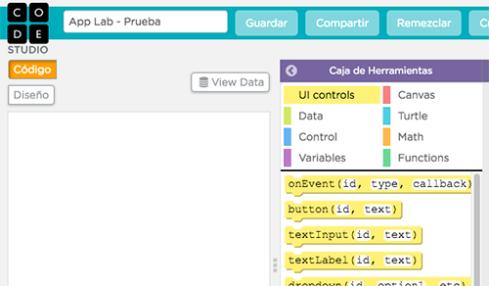 Code.org App Lab, la nueva plataforma para programar aplicaciones mediante bloques de colores 2
