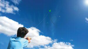 Volando una cometa Deberes en verano